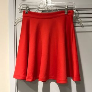 Red flounce skirt XS new with tags!